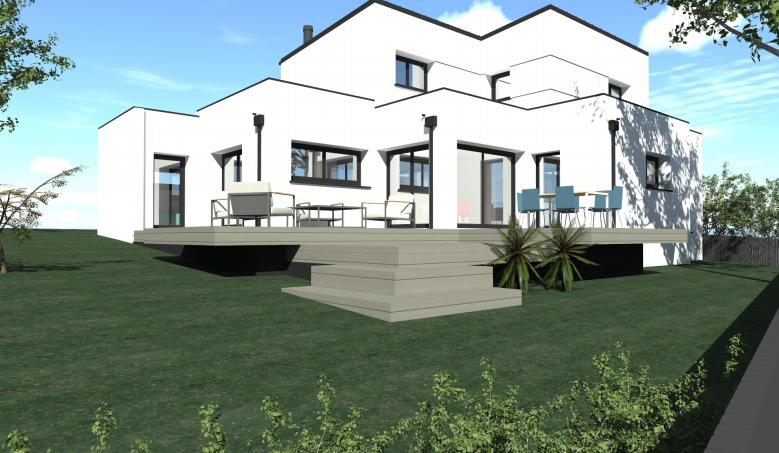 construction maison nouvelle r alisation vignoc proche. Black Bedroom Furniture Sets. Home Design Ideas
