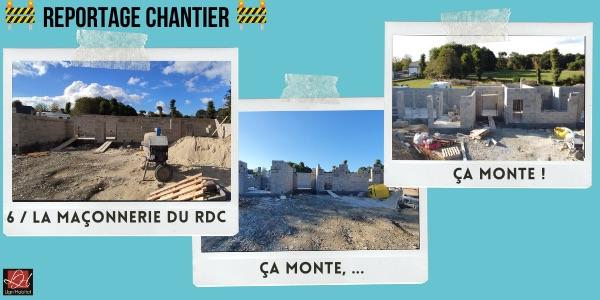 Maçonnerie RDC Maison Lign'Habitat