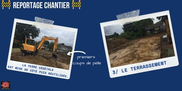 Etape 3 : Le terrassement d'un chantier