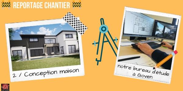 Etape 2 : La conception d'une maison contemporaine