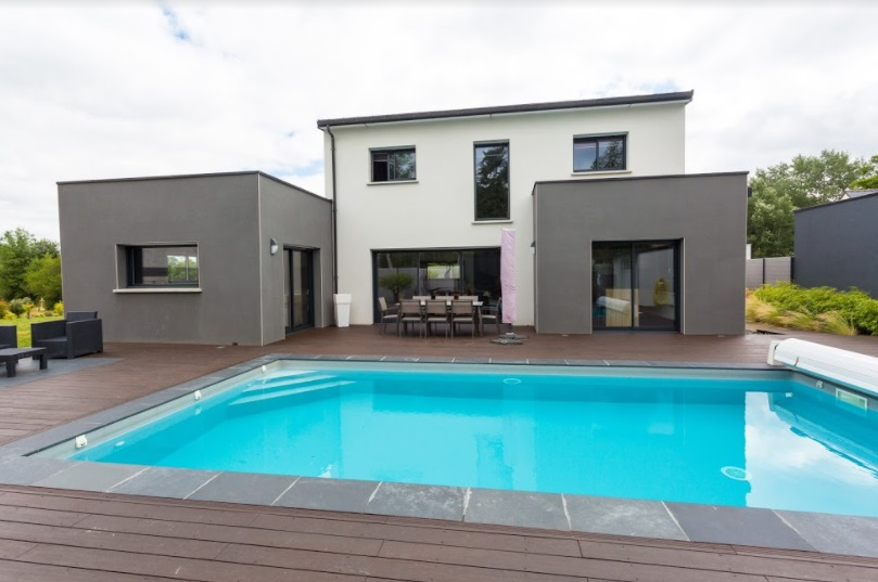 maison avec piscine lign 39 habitat. Black Bedroom Furniture Sets. Home Design Ideas