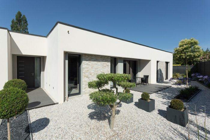 maison individuelle plain pied lign 39 habitat. Black Bedroom Furniture Sets. Home Design Ideas